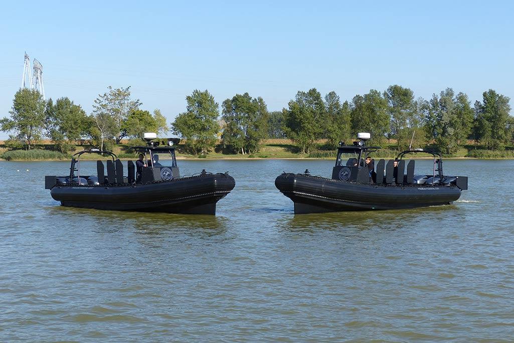 Sillinger fournisseur de bateaux pneumatiques à usage militaire.