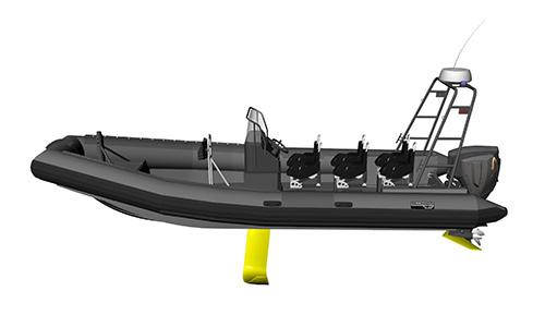 Le concept de « bateau volant » développé en france par Sillinger.