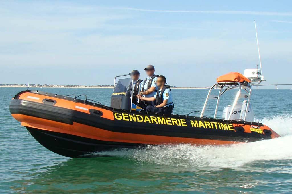 Sillinger constructeur de bateaux en France imagine des embarcations pour les interventions en mer.
