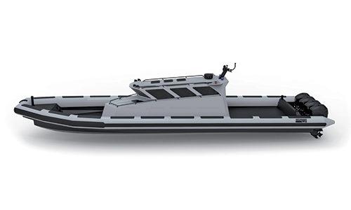 La gamme Rafale, des embarcations conçue pour des utilisation intensive (militaire).