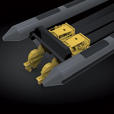 Grâce au savoir-faire de nos équipes spécialisées nous développons des équipements adaptés aux missions. (Motorisation, Assises, Meta OPS, protection balistique…)