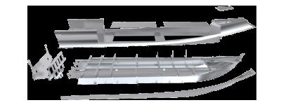 SIllinger conçoit plusieurs coques en composite ou en aluminium