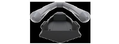 Ce système exclusif de blindage assure une protection de catégorie NIJ III+.