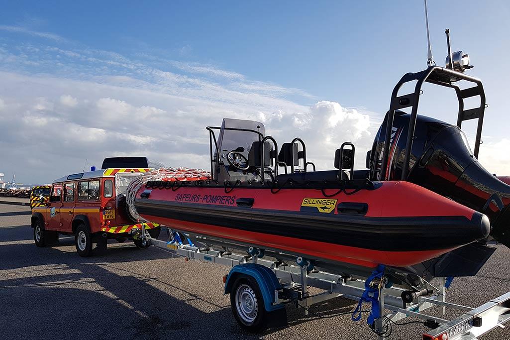 Découvrez des bateaux pneumatiques avec des motorisation performantes, hors-bord, inboard ou encore waterjet.